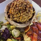Jambalaya ( available vegan)